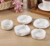 Portacenere di ceramica bianco puro della porcellana dell'hotel caldo di vendita