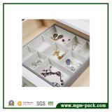 9 Compartimento Divider Jewelry Bandeja com Velvet