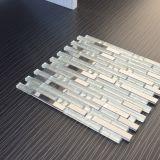 Mosaico di vetro di vendita della miscela calda dell'acciaio inossidabile, mattonelle di mosaico del metallo
