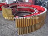 Uit gegoten staal Meer Ring van het Toestel van de Omtrek van Stukken van Roterende Oven of Roterende Droger