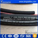Flexibler Stahldraht-verstärkter Gummiöl-beständiger hydraulischer Schlauch