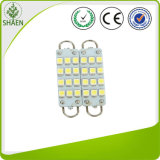 44mm 12 SMD White Festoon LED Car Lights