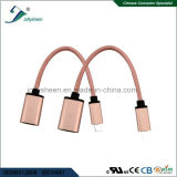 Tipo flexível C USB OTG e USB3.0 AF para um Plus 2 Dados de cabo