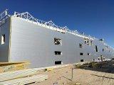 2017 prefabricó el edificio de la estructura de acero para el taller del almacén de la escuela