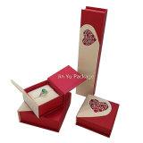Rectángulo de almacenaje de la joyería del regalo de la joyería del papel de la cartulina del imán Jy-Jb185
