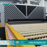 Landglass dobló el temple de los hornos se utiliza en las compañías de proceso de cristal del coche