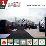 Tenda libera operata di cerimonia nuziale del tetto a Hong Kong