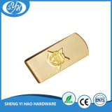 Customized Company Logo Sterling Gold Money Clips
