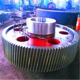 Melhor qualidade de grande forja de ligas de aço e a engrenagem do pinhão