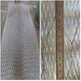 Ячеистая сеть PVC звена цепи Coated (покрынный PVC, после того как я гальванизирован)