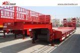 運送装置のためのタイヤによって露出される二重低下のトレーラー
