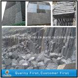 Schwarzer Granit-Kopfstein des Basalt-G684/Würfel/Block-Rand/Bordstein/Pflasterung-Stein