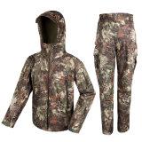 El camuflaje impermeable del deporte al aire libre que buscaba la ropa táctica de Bdu fijó Cl34-0066