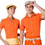 棒StaffかWaiter/Waitress/Hotel Chef Jacket Restaurant Chef Uniform