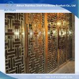 Feuille de découpe au laser en acier inoxydable pour plaque décorative