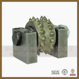 150mm 4 Rollers Diamond Floor Grinder Bush Hammer Plate