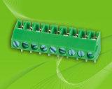 Bloco de terminais de parafuso de PCB com espaçamento de pino de 3,5mm