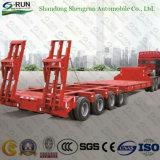 60 toneladas de carga Lowbed semi reboque do veículo