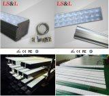 Techo de aluminio 150 cm lineales de iluminación LED Luz colgante