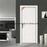Porte en bois solide pour la porte intérieure de modèle simple