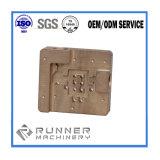 A precisão do metal Part/CNC que faz à máquina/fêz à máquina/parte perfurada