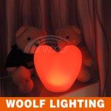 LED 심혼 빛 또는 발렌타인 데이 선물 또는 결혼식 훈장 램프