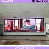 Mur visuel sans joint de DEL pour l'étalage de publicité d'intérieur/extérieure