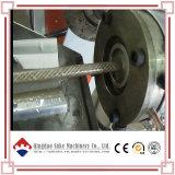 PVC 기계를 만드는 섬유에 의하여 강화되는 연약한 관 호스 밀어남