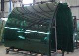 Effacer la glace de construction isolée gâchée colorée de double vitrage