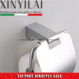 Sujetador de papel higiénico de material de aleación de alta calidad con cubierta