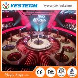 Segno Fullcolor di fase di evento dell'interno sottile LED della priorità bassa