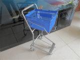 Plastic mand Trolley Metal Basket Winkelwagen