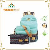 Повседневный легкая сумка для ноутбука полотенного транспортера сумки через плечо школы рюкзак