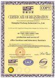 MFC 내화성이 있는 합판 직원 분할 책상 (PS-P68)