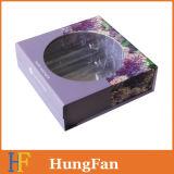 Rectángulo de empaquetado de papel de la impresión de los cosméticos agradables de la cartulina/rectángulo de regalo