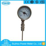 60mm Tout type d'angle en acier inoxydable Wika Thermomètre