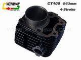 Peça da motocicleta Ww-9157, cilindro da motocicleta CT100,
