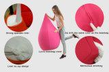 3DポリエステルLycra物質的なカバー豆袋の椅子との慰めの大人のための豆袋
