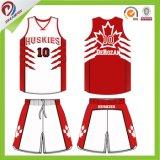 OEM는 자유로운 디자인 주문 팀 농구 Jerseys 도매를 서비스한다