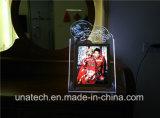 Publicidad de acrílico de cristal de interior Publicidad LED magnética Caja de luz