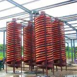 Separador de tubo espiral de la gravedad de la minería del oro