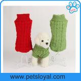 Animale domestico del rifornimento poco costoso dell'animale domestico del fornitore il piccolo copre il maglione del cane