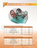 세 배 금속 리베트와 단추 접촉 기계