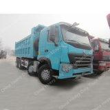 Sinotruk HOWO A7 8X4のダンプカーのダンプトラック420HP