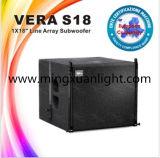 Subwoofer Vera S18 18 pulgadas de nuevo diseño de altavoces PA
