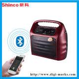 Audio altoparlante di cuoio di vendita di migliore forma fisica calda dei regali