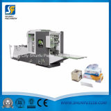 Abschminktuch-Produktionszweig Abschminktuch-faltende Maschine und Verpackungsmaschine
