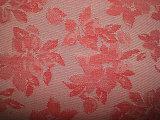 Tessuto tinto filato del jacquard del fiore del cotone