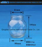 Heißes verkaufen500g, klar Glaswaren 1000g für Stau mit Kappe