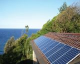 sistema do painel solar de eficiência elevada de 5kw 6kw